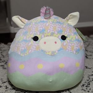 """Bexley Squishmallows 20"""" Easter Day - Tie Dye Egg"""